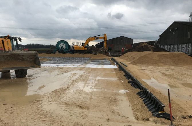 Drainage and Stone Stabilisation