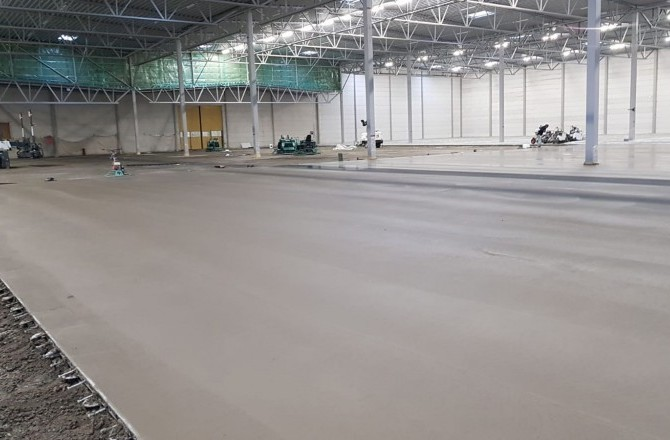 Steel Fibre Concrete Floor