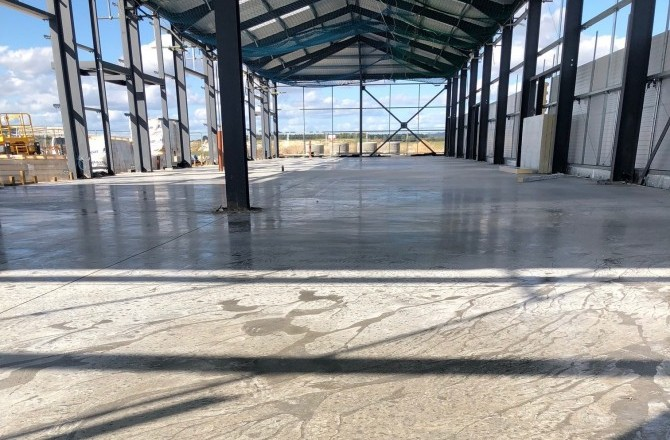 Installation of 3 New Industrial Concrete Floors